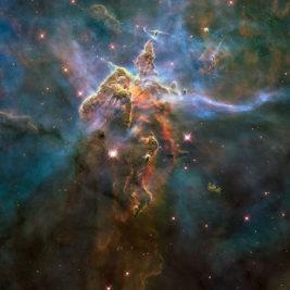 Nebulosa Aquila cationi gas ionizzati