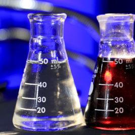 beuta di acido cloridrico in soluzione